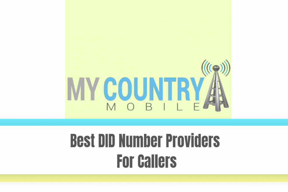 Best DID Number Providers For Callers - My Country Mobile